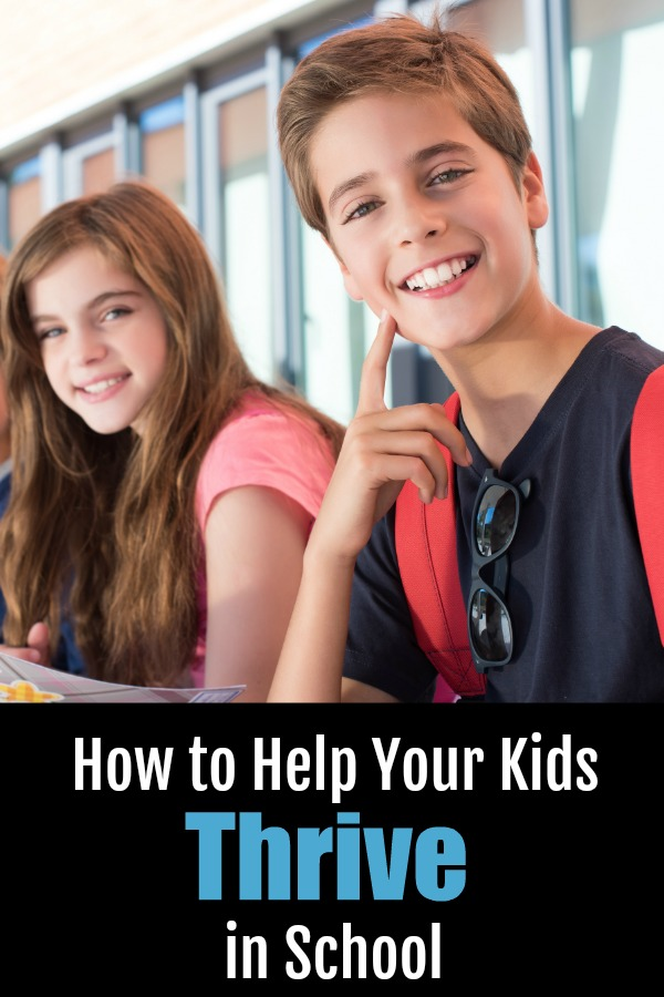 How to help your kids thrive in school