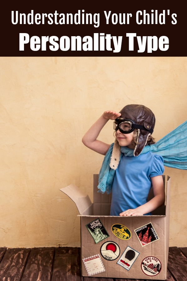 understanding your child's personality type