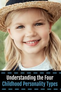 Understanding The Four Childhood Personality Types