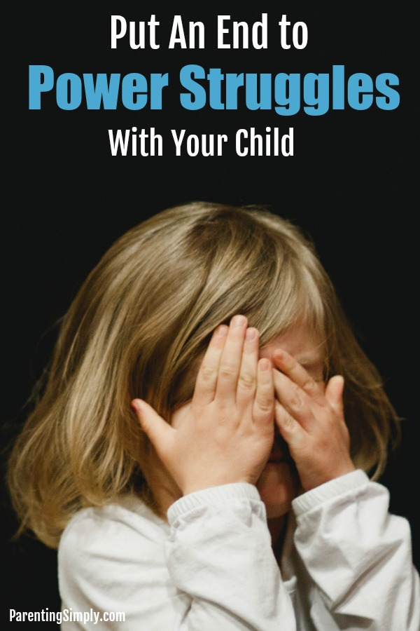 Power struggles with your child